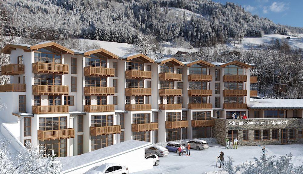 Alpendorf, St. Johann, Rakousko